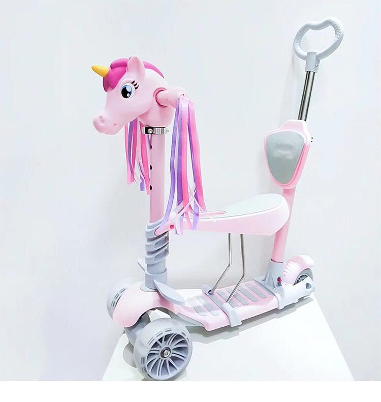 Xe scooter đứng ngồi thoải mái cho bé