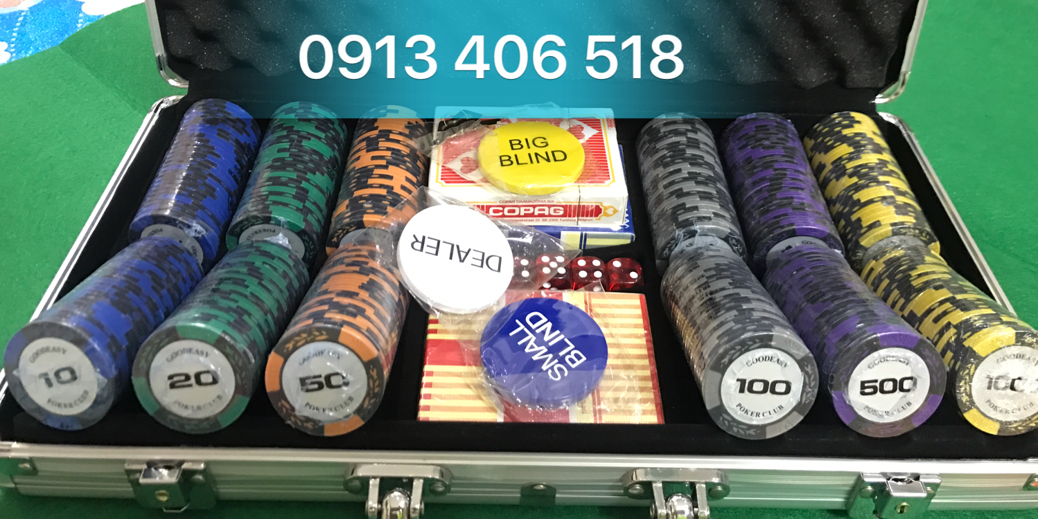 Phỉnh Goodeasy Poker Club 300 Chip