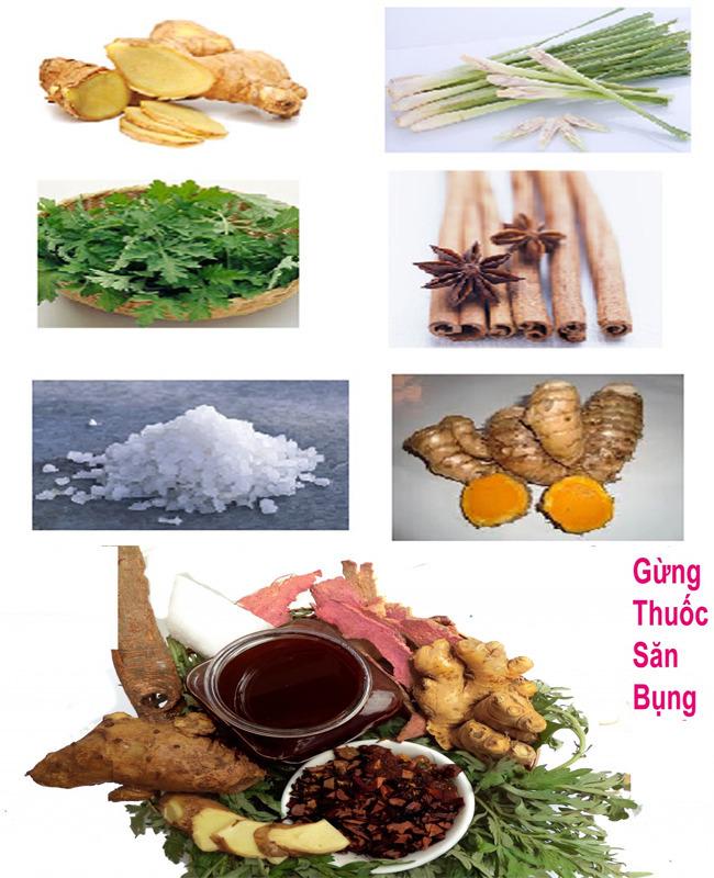 Muối thảo dược săn bụng sau sinh - Bí Kíp Cung Đình Huế