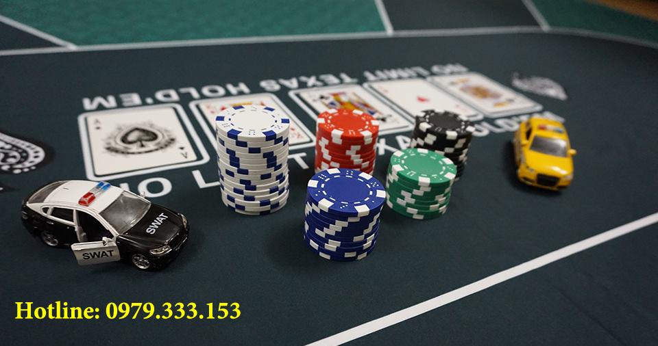 Phỉnh poker 500 chip không số